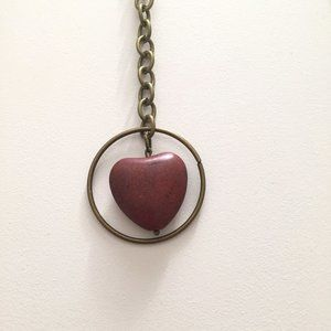 2 for $55 / Dangle Heart Necklace